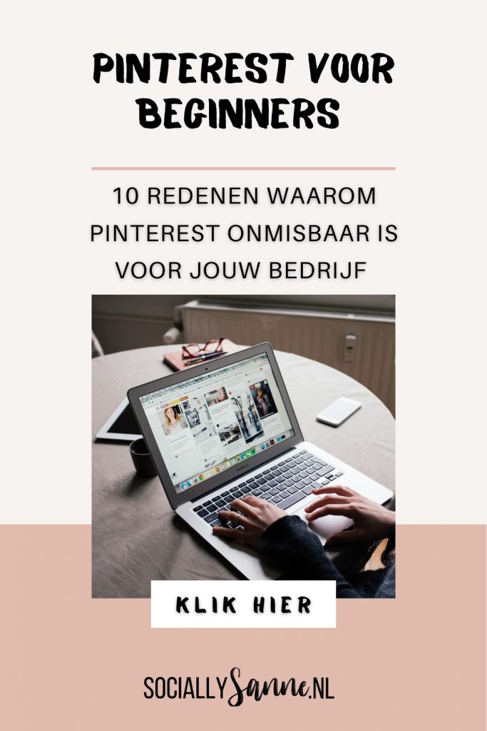 1 Pinterest voor beginners - 10 redenen waarom Pinterest interessant is voor jouw bedrijf