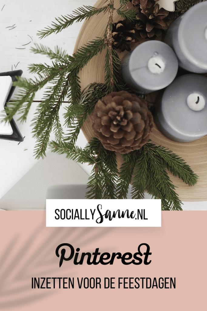 Pinterest inzetten voor de feestdagen Socially Sanne 2