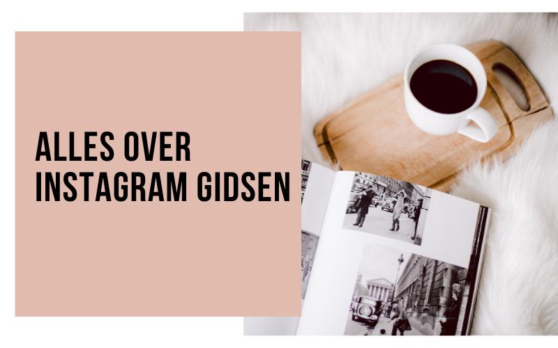 alles over Instagram Gidsen - Socially Sanne header