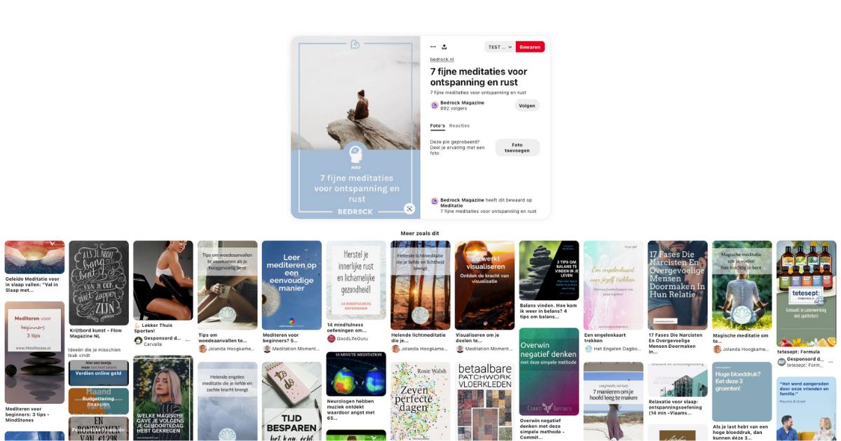 Gerelateerde pins - Zo word je gevonden op Pinterest in 2021