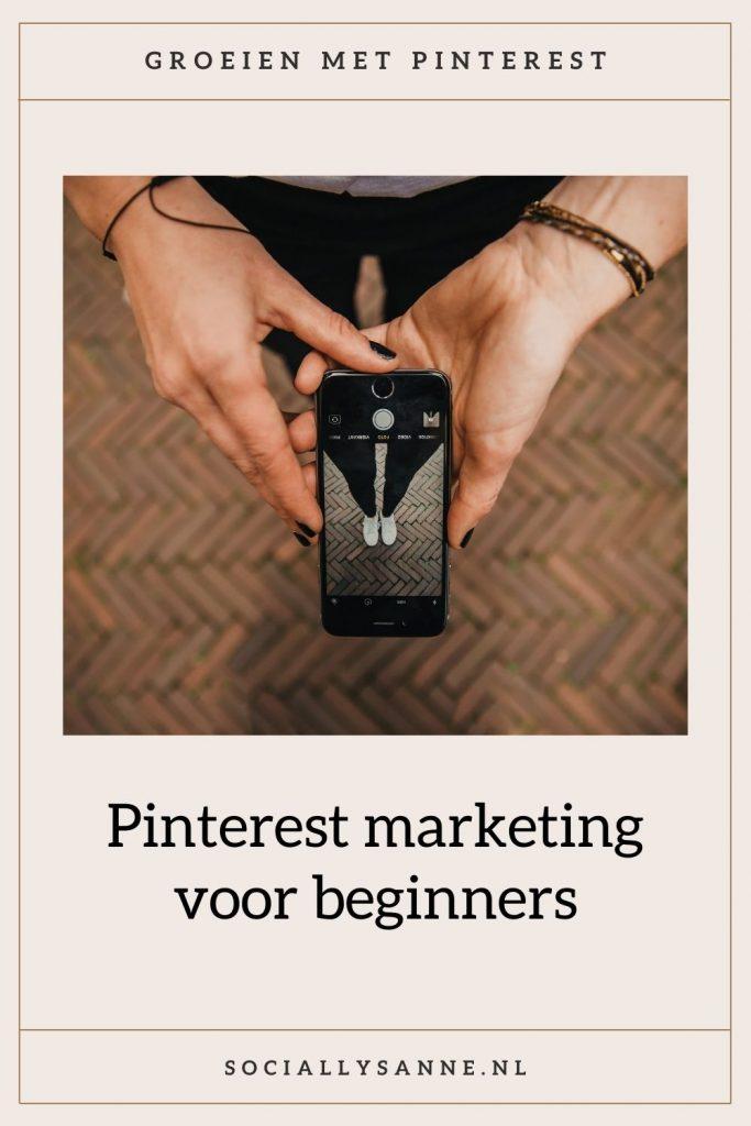 1 Pinterest voor beginners - Socially Sanne