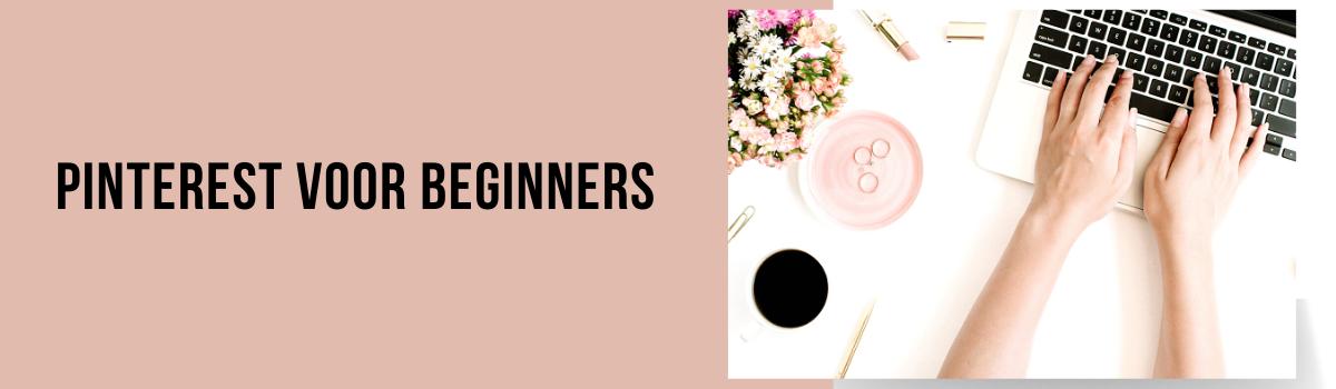 Pinterest voor beginners - blog headers