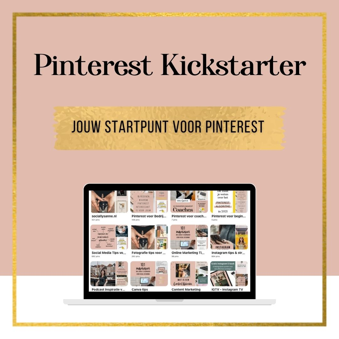 medium Pinterest Kickstarter Product afbeelding