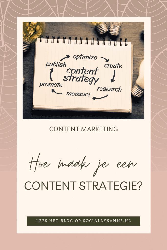 2 Wat is een Content Strategie en 7 onmisbare tactieken - Socially Sanne