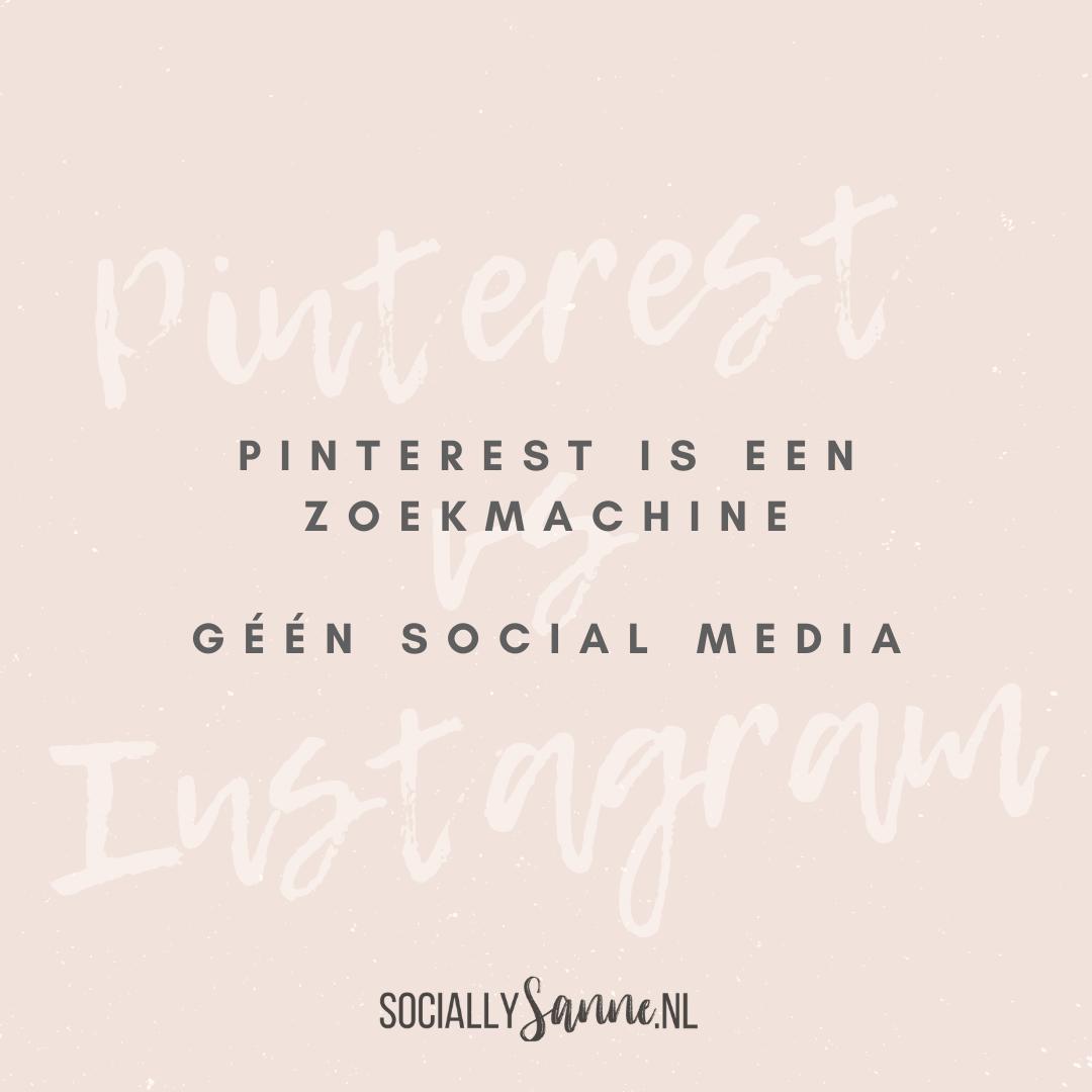 1 Wat is het verschil tussen Pinterest en Instagram - Socially Sanne