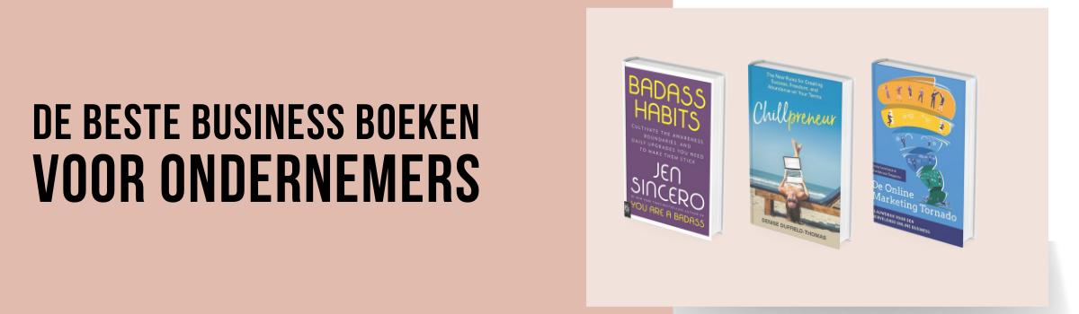 Beste business boeken voor ondernemers smalle blog header